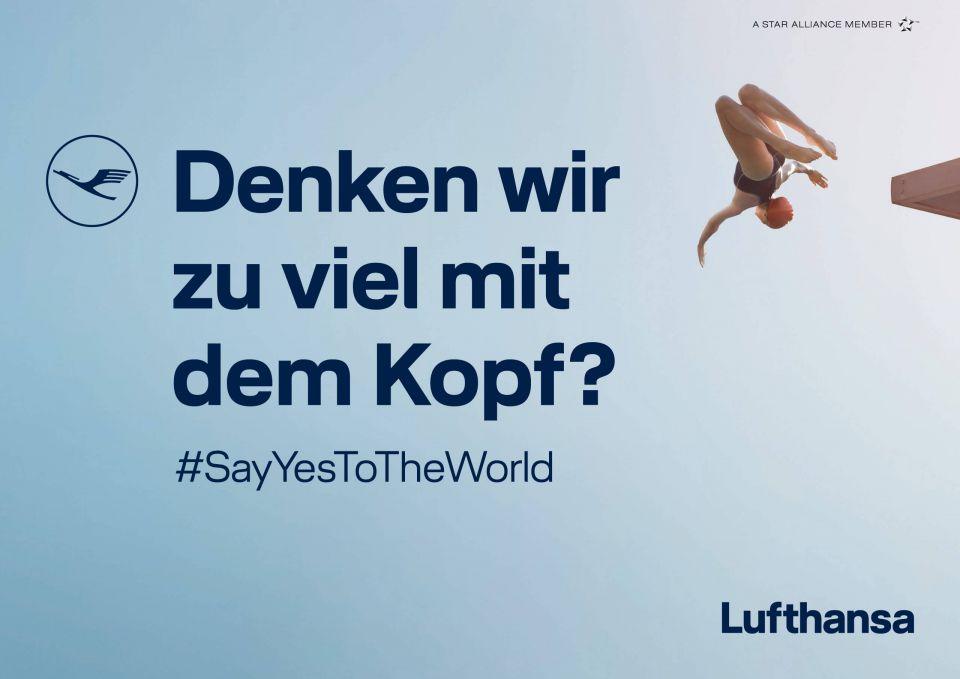 Lufthansa - Denken wir zu viel mit dem Kopf