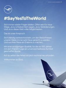 Anzeigenbeobachtung 02_2018-1.7 Lufthansa-Sayyestotheworld