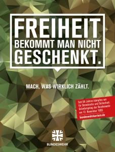 Anzeigenbeob_11-2019_06_Bundeswehr - Freiheit bekommt man nicht geschenkt-